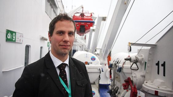 Prosjektleder Henrik Sjöblom i Rolls-Royce - Blue Ocean Team.