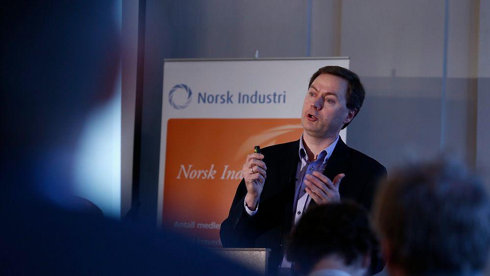 Direktør Knut E. Sunde i Norsk Industri tror sanksjonene mot Russland kan ramme norsk industri.