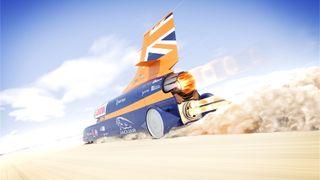 Norsk rakettmotor skal hjelpe bil å kjøre i 1600 km/t