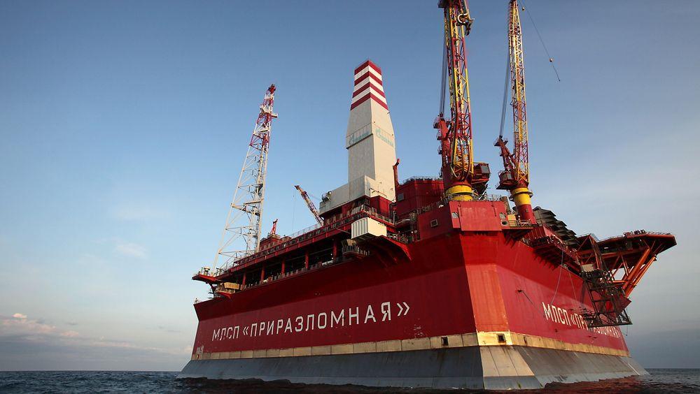 Ifølge ledelsen i Gazproms datterselskap skal Prirazlomnaja-plattformen være så solid at den tåler en fulltreffer med torpedo.