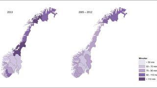 Her er det flest strømbrudd i Norge