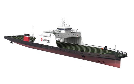 Seaspan Ferries Corporation har kontrahert fergnene i Tyrkia ved Sedef Shipyard (Tuzla, Istanbul) og skal i rute ved Vancouver fra slutten av 2016.