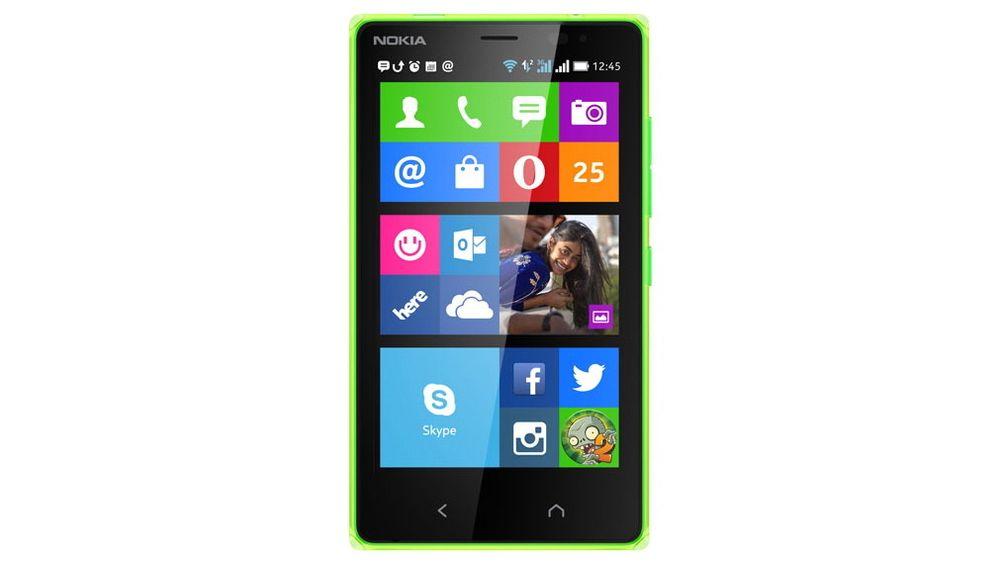 Nokia X2 er en Android-telefon uten støtte for Google-tjenester.