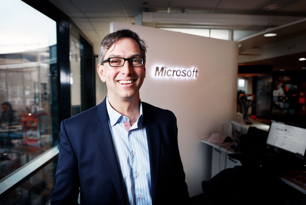 Michael Jacobs, Microsoft Norge.