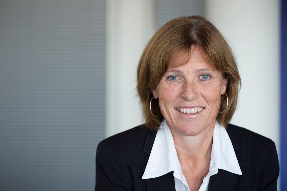 Hopper etter Dyb: Anne Marit Panengstuen blir konsernsjef i Siemens i Norge etter Per Otto Dyb. Han trer av 1. august etter 10 år som konsernsjef.