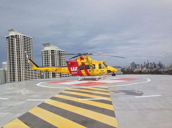 Det var dette Bell 412-helikopteret som var nær ved å kollidere i lufta med en RPAS for to og en halv måned siden.