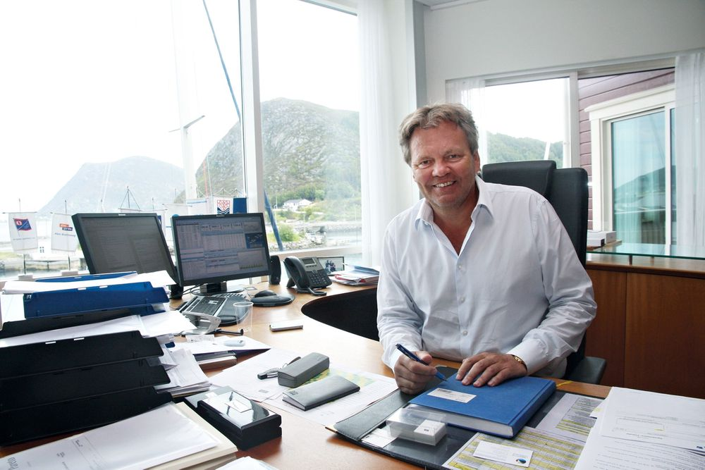Løsningen:Stig Remøy mener løsningen ligger i havrommet, eller Ocean Space som han kaller det.