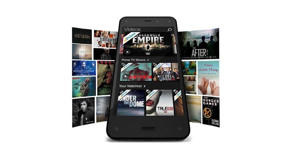 Amazon Fire Phone er svært tett integrert med selskapets mange varer og tjenester.