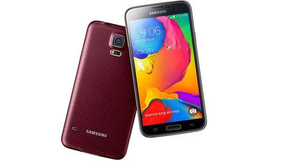 Galaxy S5 LTE-A er nesten lik originalen, men har høyere skjermoppløsning, 225 Mbps 4G-nedlasting og Snapdragon 805-systembrikke.