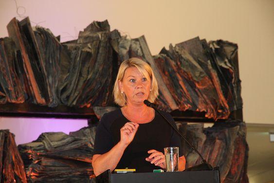 Framtid: Næringsminister Monica Mæland tror GCE-instituttet kan bidra til å styrke Norges konkurransekraft internasjonalt også i andre næringer.