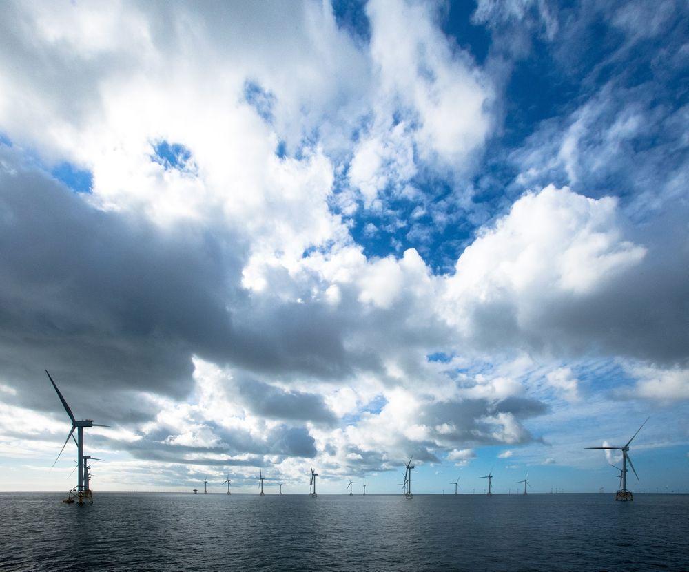 Havvindparken East Anglia One skal levere 1200 MW effekt. Nå har den fått grønt lys. (Illustrasjonsfoto)