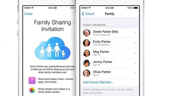Det skal bli enklere for familien å holde kontakten og se hvor de andre er med den nye familiefunksjonen i iOS.