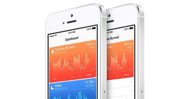Apple har bygget inn en egen helsefokusert tjeneste i iOS 8.