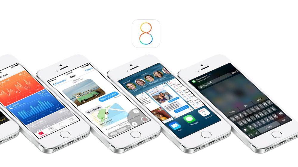 Apple har lansert ny utgave av iOS.