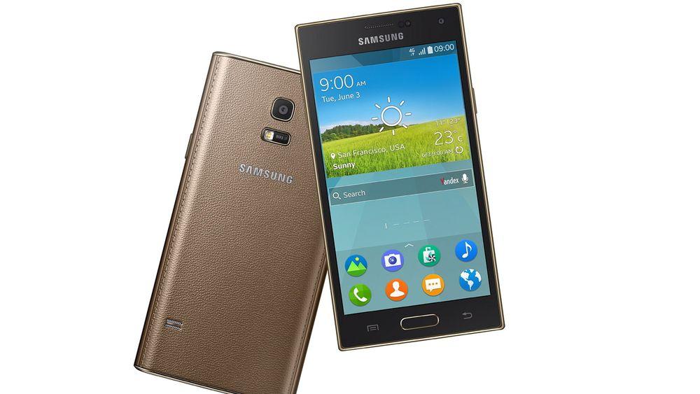 Samsung Z er den første smarttelefonen med plattformen Tizen.