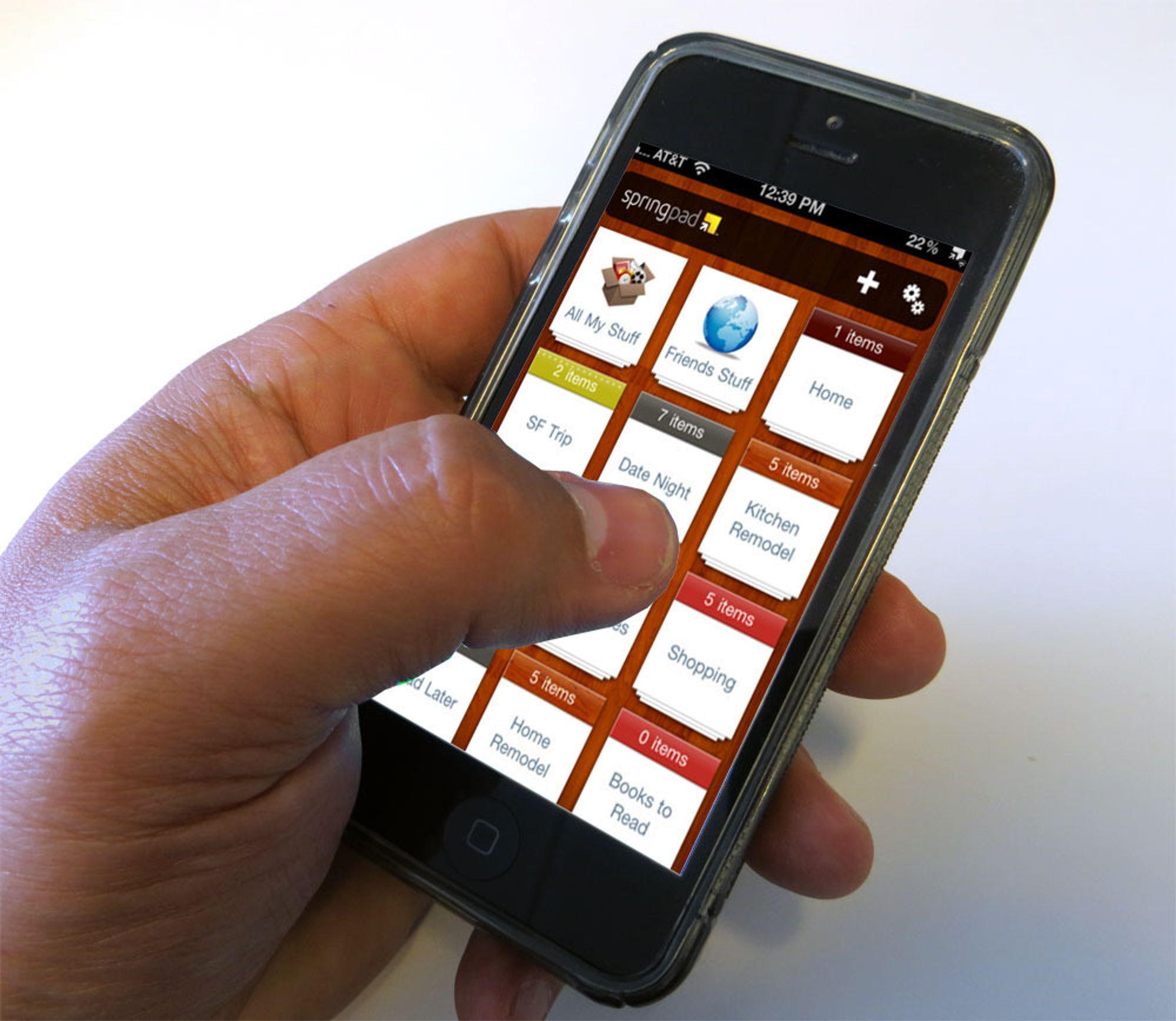 Springpads iPhone- og Android-apper er allerede fjernet fra henholdsvis App Store og Google Play.