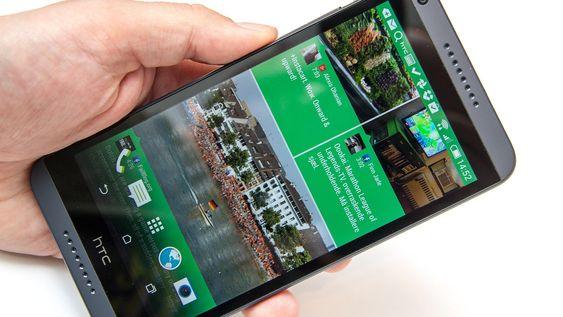 En nyhetsleser du får tilgang til rett på startskjermen kan være nyttig å ha. HTC kaller den Blinkfeed, og tanken er at du alltid skal møtes med nytt innhold når du ser på telefonen din.