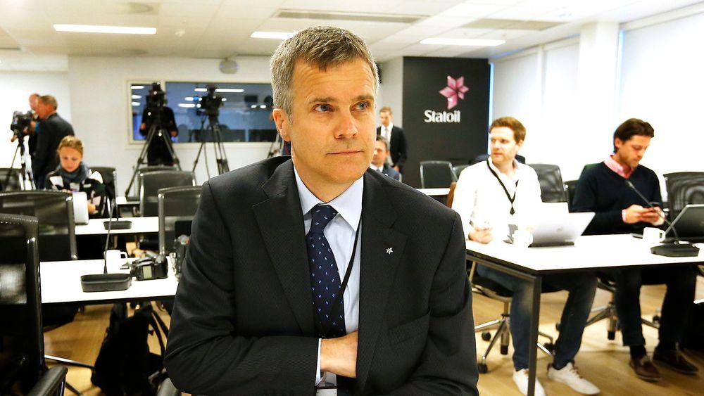 Statoil-sjef Helge Lund skal effektivisere og varsler at 1400 stillinger kan forsvinne de neste årene.