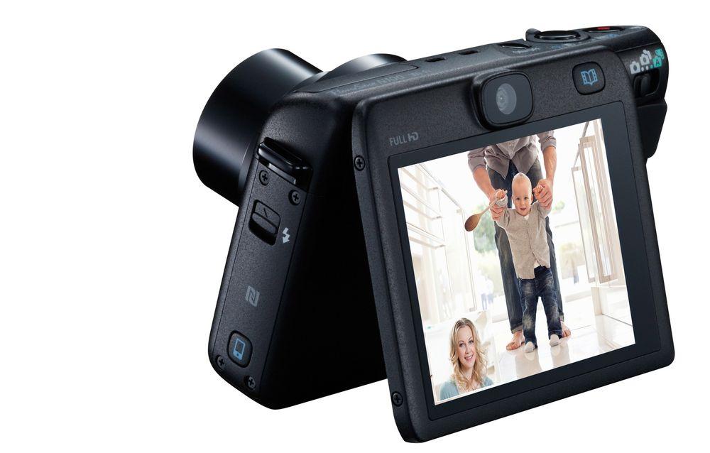 Førstepremie: Selfie-kameraet Canon PowerShot N100.