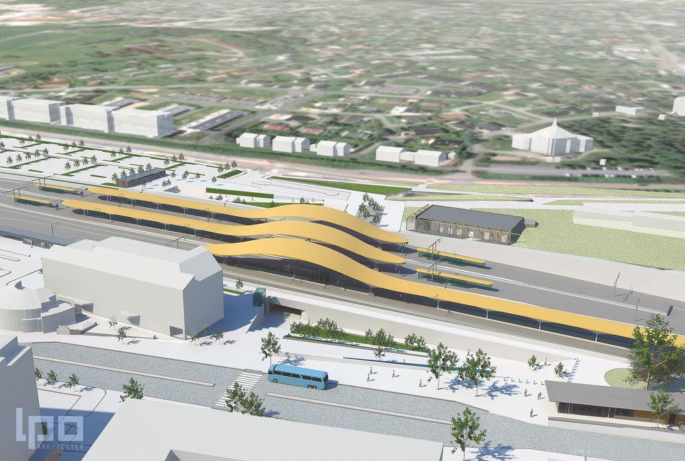 Kontrakten omfatter byggingen av nye Ski stasjon og tilknyttede fasiliteter i området rundt stasjonen. I tillegg vil byggingen av Follobanen og omlegging av Østfoldbanen, medregnet byggingen av jernbaneteknikk, mellom Ski og Langhus inngå i kontrakten.