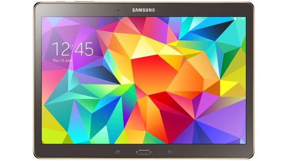 De nye Galaxy Tab S-brettene har Super-AMOLED-skjermer med 2560 x 1600 pikslers oppløsning.