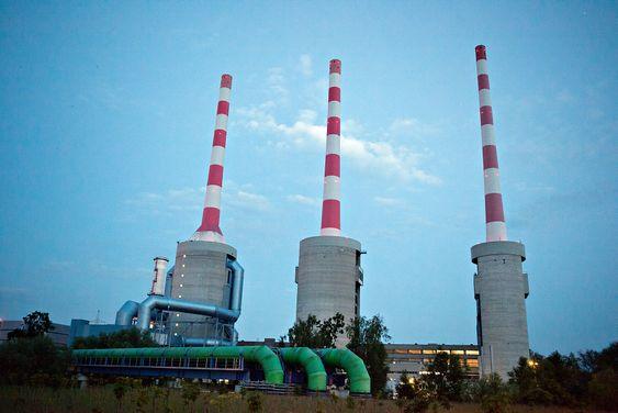 Høy virkningsgrad: Gassen fra Utsirahøyden kan sendes til gasskraftverk på kontinentet, som dette i Irsching i Tyskland, og brennes med hele 60 prosent virkningsgrad.