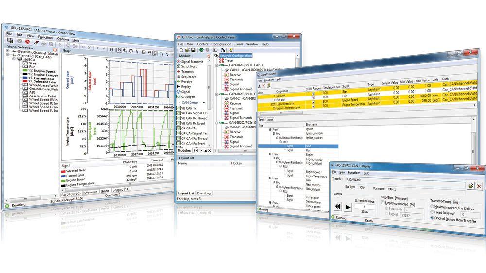 Nytt analyseverktøy for CAN-nettverk
