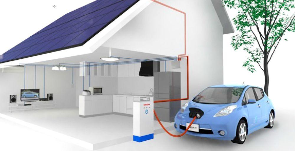 Det planlagte smarthuset på Gjerdrum produserer strøm og har elbilhurtiglader ut fra veggen.