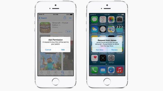 Med Family Sharing kan du styre hvilke apper junior får lov til å kjøpe.
