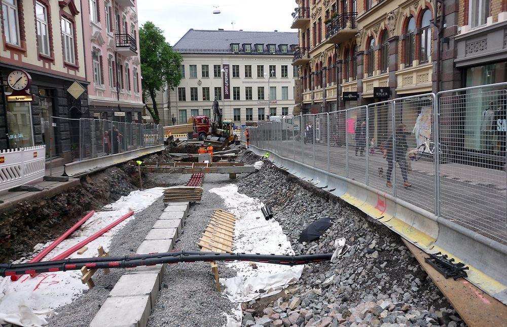 Vann- og avløpsetaten vil unngå stengte gater når nye bygg skal kobles til hovedvannledning og når ledningsnettet rehabiliteres, og søker ny gravefri teknologi. (Illustrasjonsfoto.)