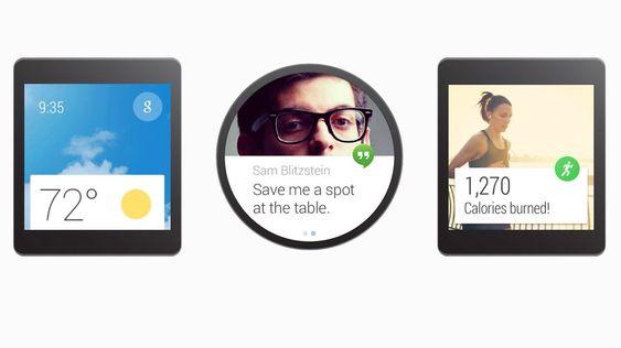 De første enhtene med Android Wear er i ferd med å slippes på markedet.