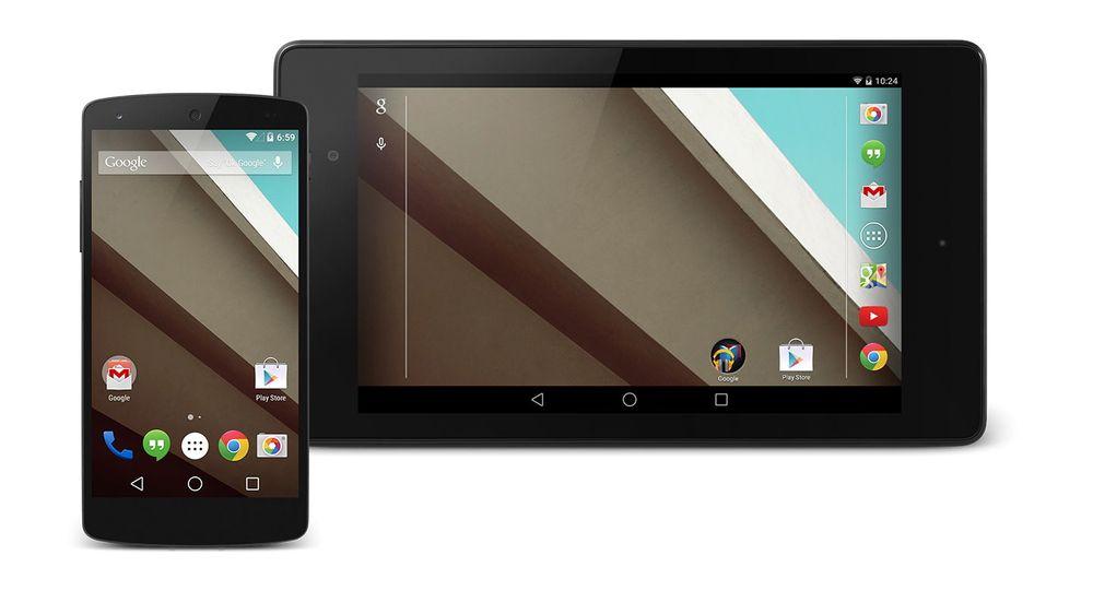 Android L er vist frem. Utviklere kan laste ned i morgen, men Google slipper ikke utgaven før til høsten.