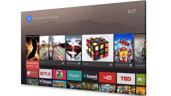 Android TV tar Android L til TV-skjermen. Her får du et eget TV-tilpasset grensesnitt og mulighet for å bruke de samme tjenestene og appene som på mobilen eller nettbrettet.