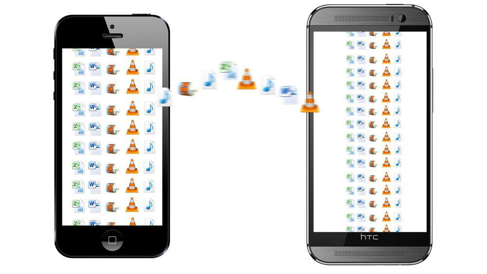Vurderer du å prøve den andre siden av gjerdet? Det er lett å flytte de viktigste tingene fra iPhone til Android.
