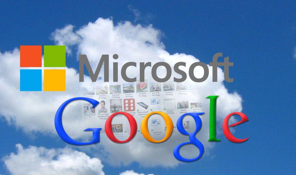 Microsoft og Google priser sine nettskytjenester stadig lavere.