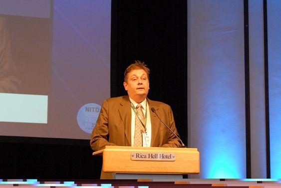 Den nye presidenten i NITO, Trond Markussen