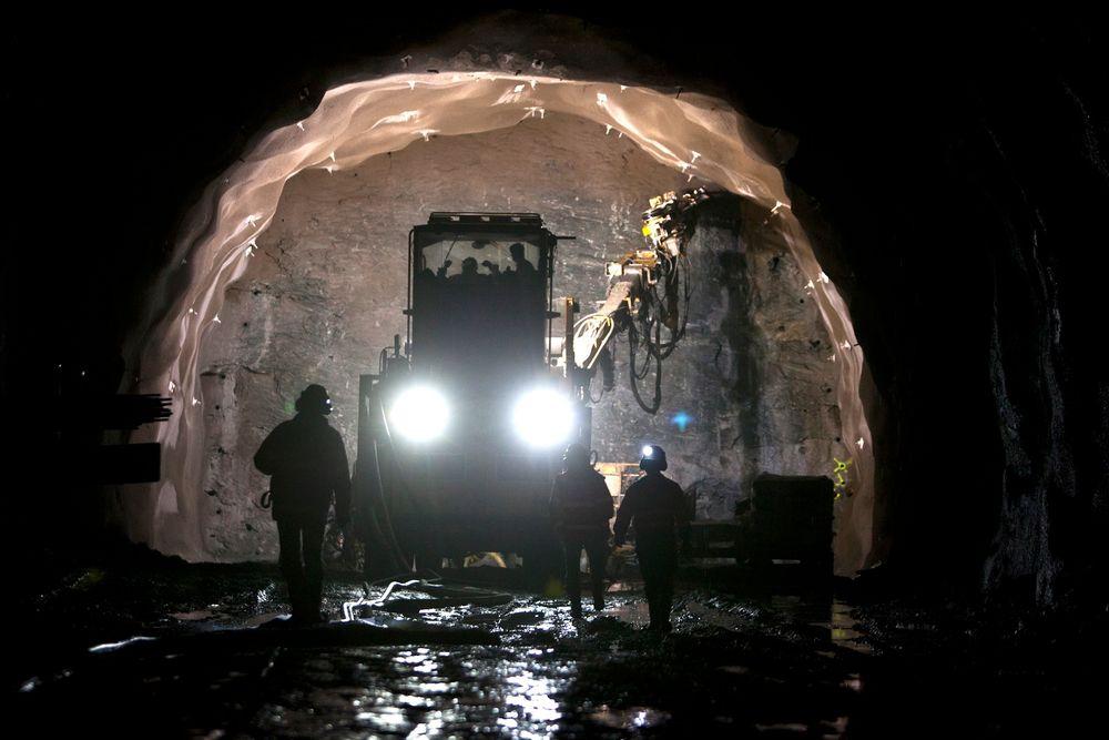 Stor tunnel: En eventuell kabeltunnel mellom Smestad og Sogn må være så stor at den har plass til lastebil for å drive tunnelen enkelt og raskt, ifølge Statnett.