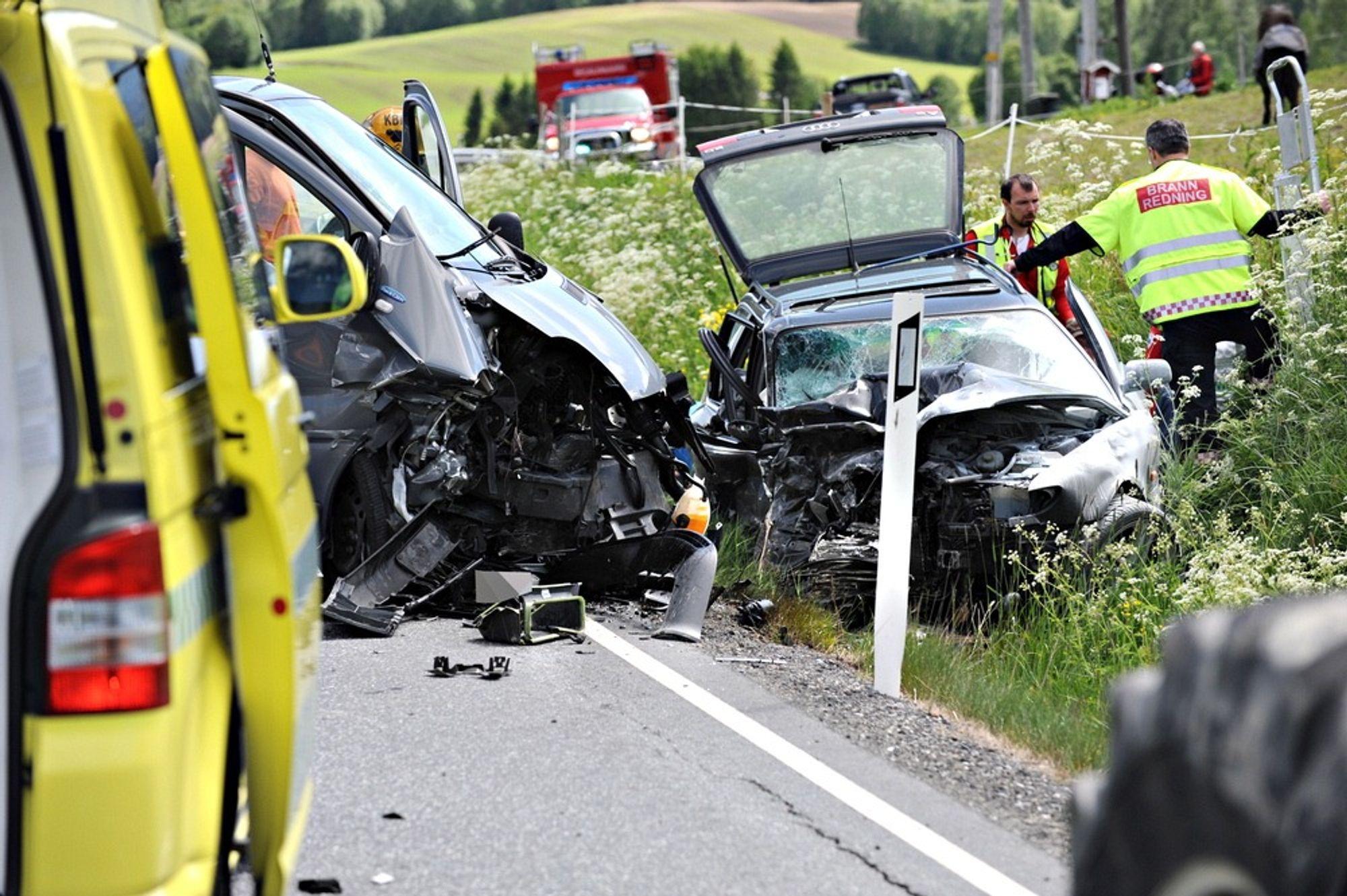 Andelen ulykker som skyldes feil på bilen har doblet seg siden 2005.
