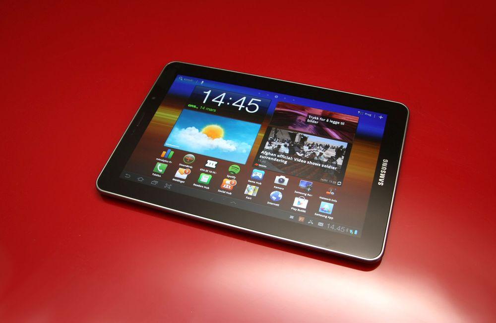 TEST: Test: Samsung Galaxy Tab 7.7