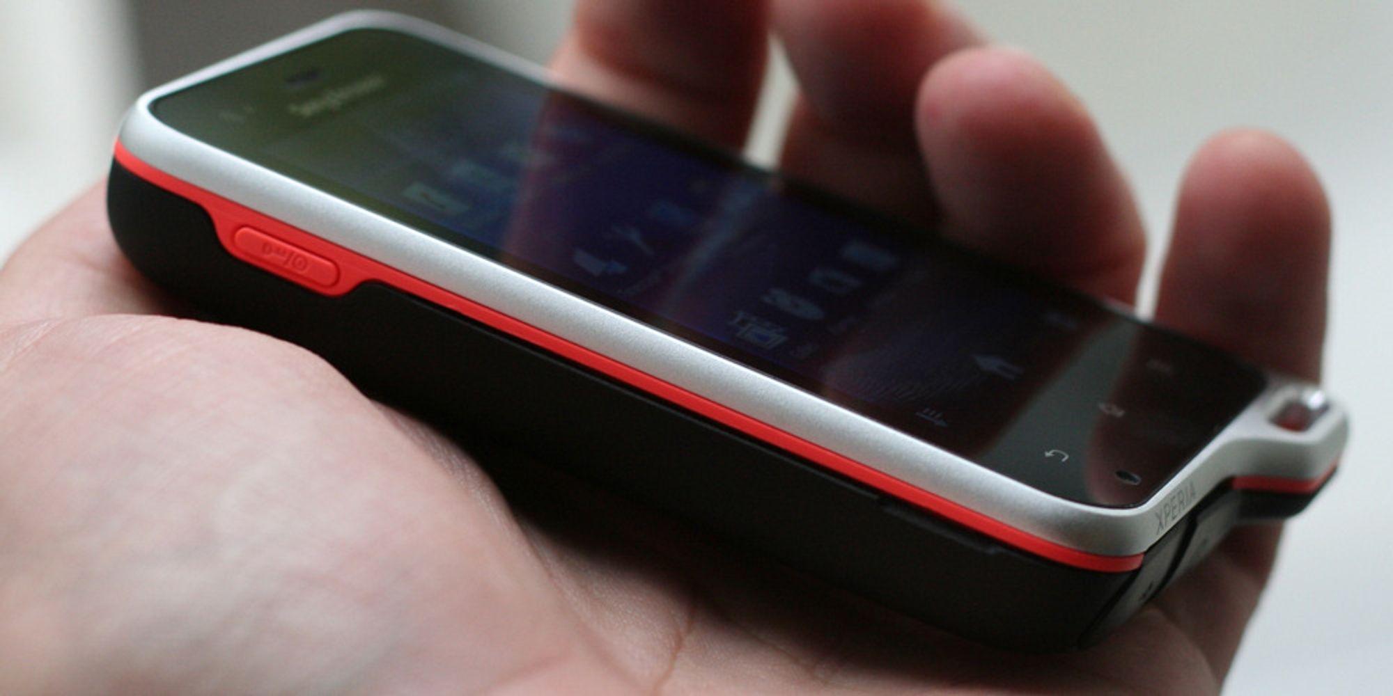 Lyntest av Sony Ericsson Xperia Active