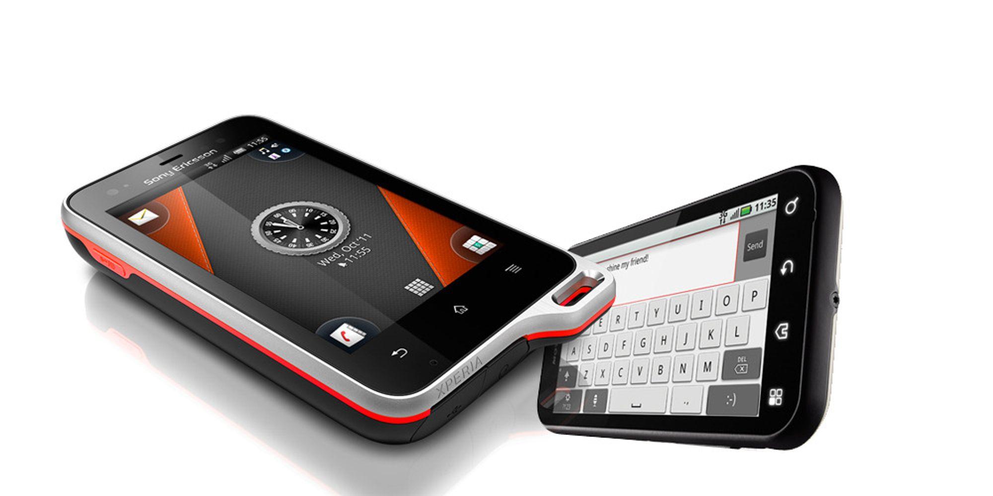 Spec-duell: Xperia Active VS Moto Defy
