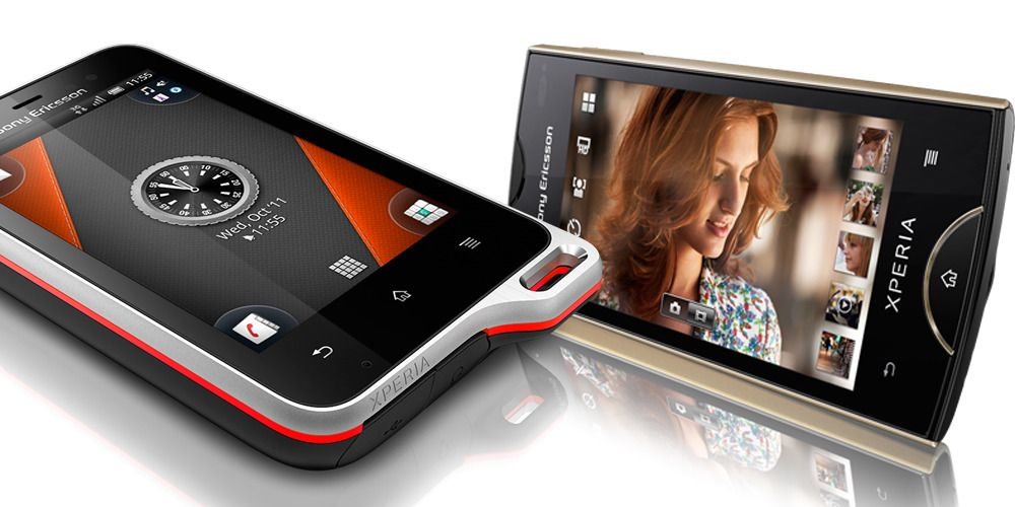 Sony Ericsson lanserer to nye Android-telefoner