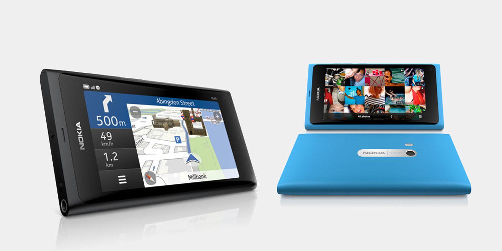 Slik er menyene i Nokia N9