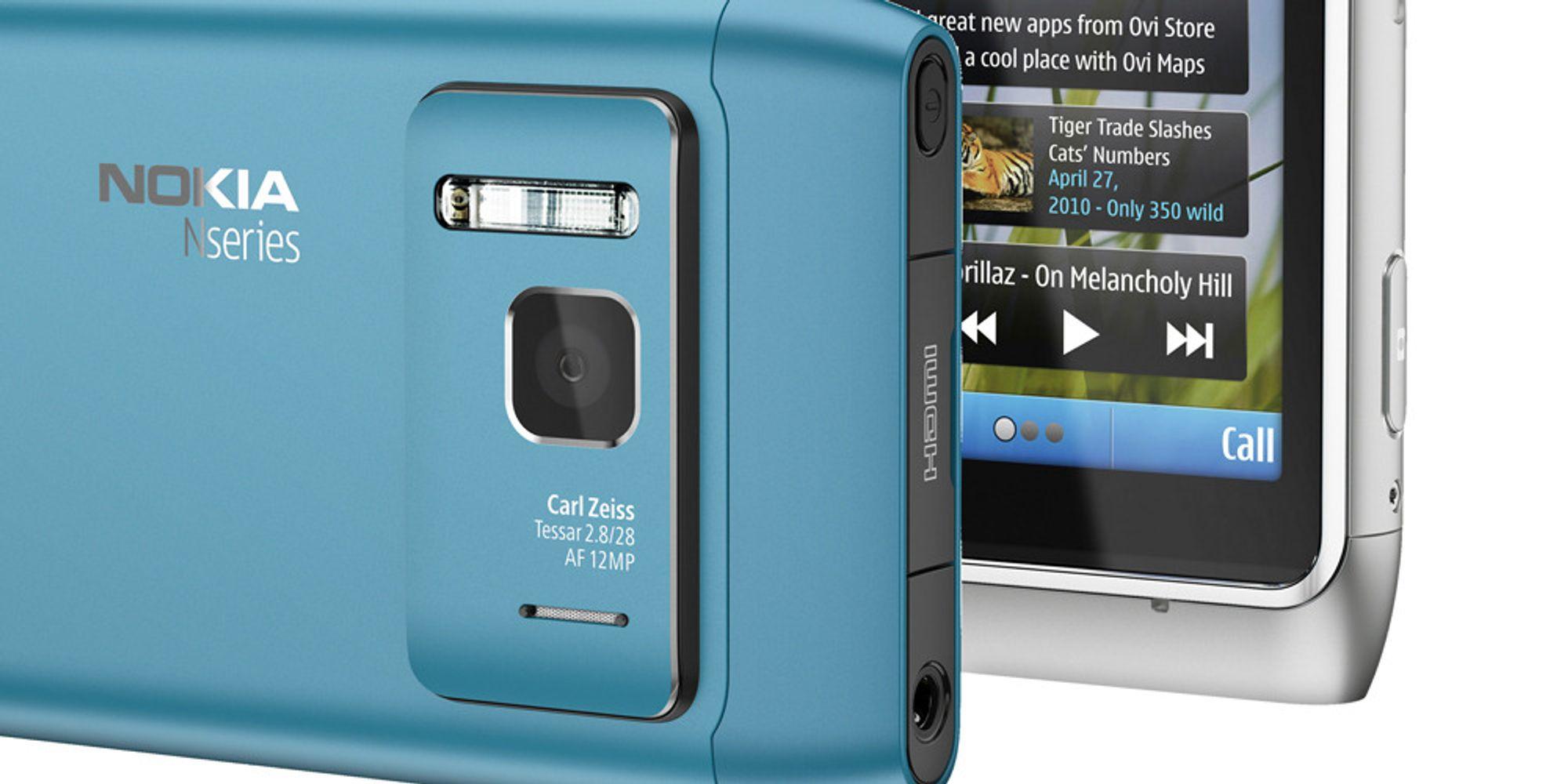 Nokia N8 får enda bedre kamera