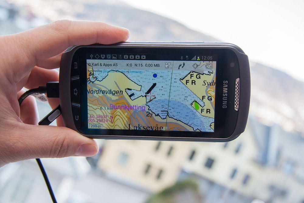 Gratis sjøkart på mobilen