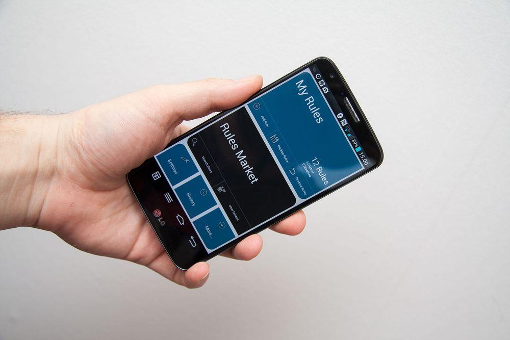 Gjør mobilen din automatisk