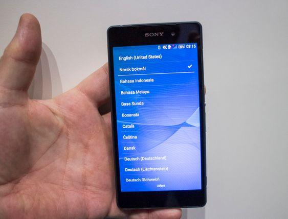 Xperia Z2: Større og bedre skjerm i mindre telefon er Sonys våpen i kampen om markedsandelene