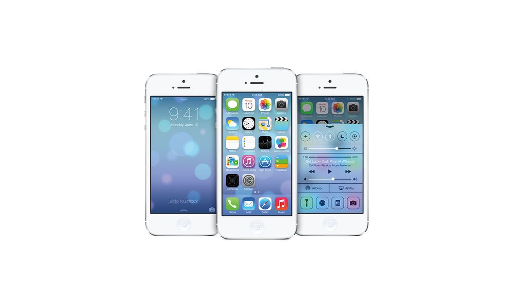 Apple lanserer iOS 7