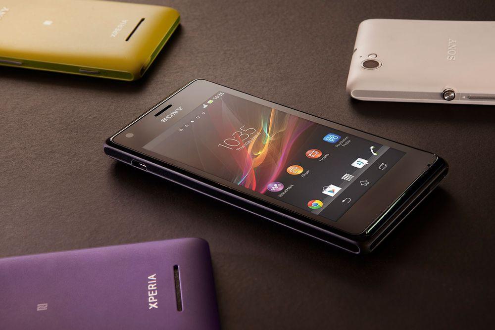 TEST: Sony lanserer Xperia M