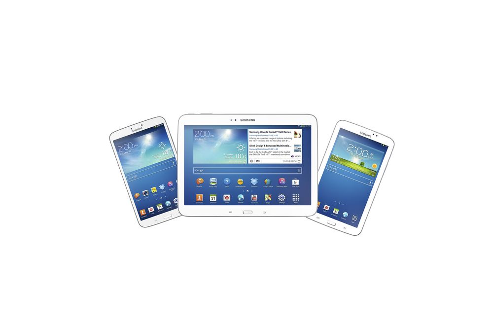 To nye Samsung Galaxy Tab 3